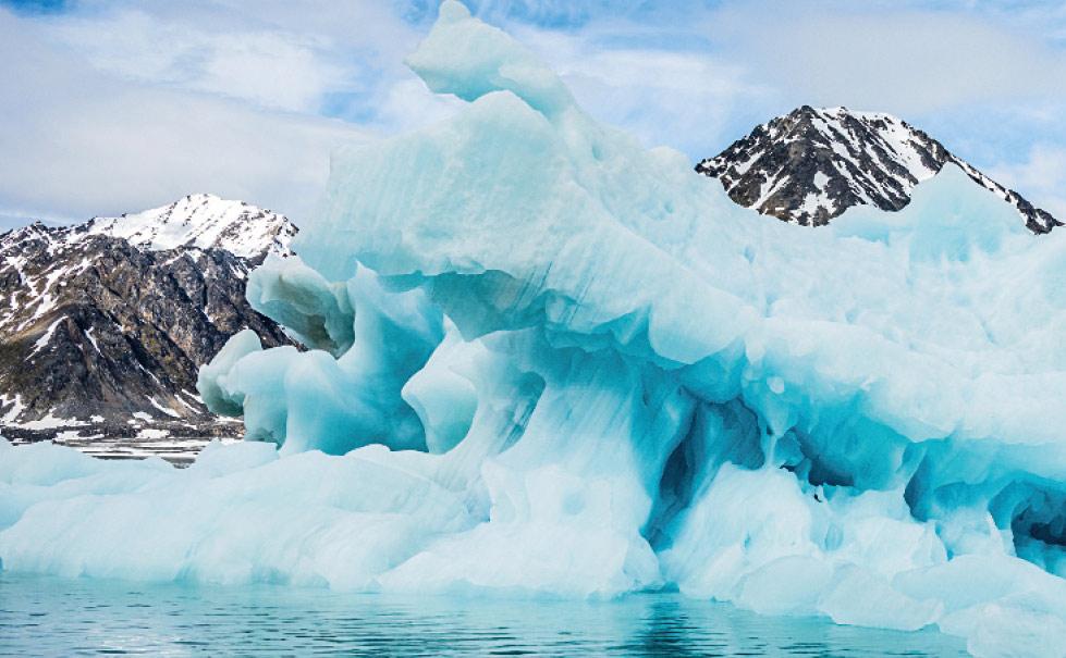 Oscar-II-Landes, Arctic, Nature, Packeis, Spitzbergen, nördlicher Polar, Treibeis, Polarmeer