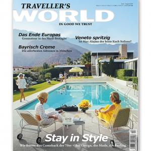 Traveller's World Cover