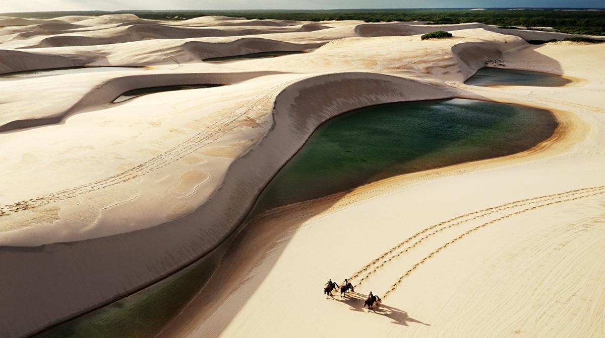 Die Dünen in Brasilien