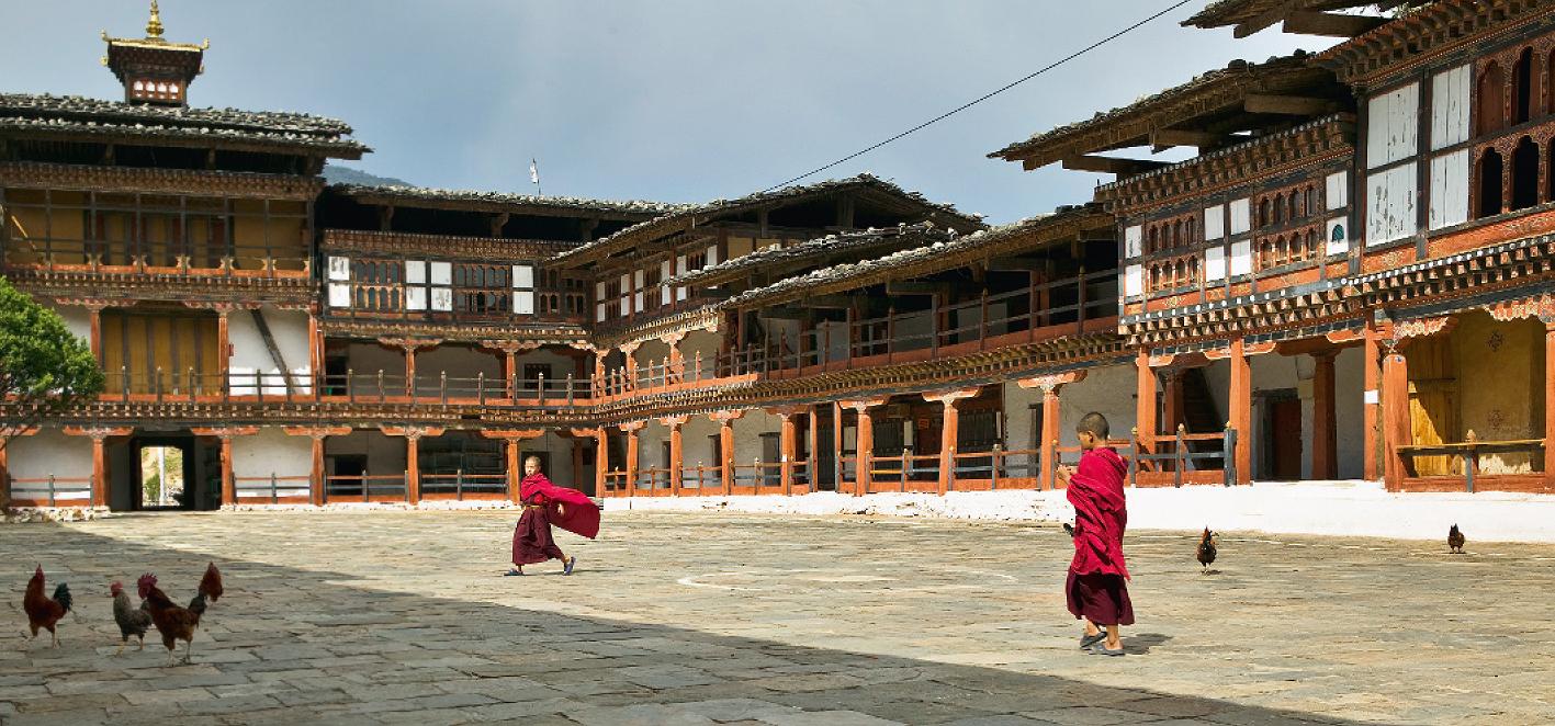 Kloster Bhutan