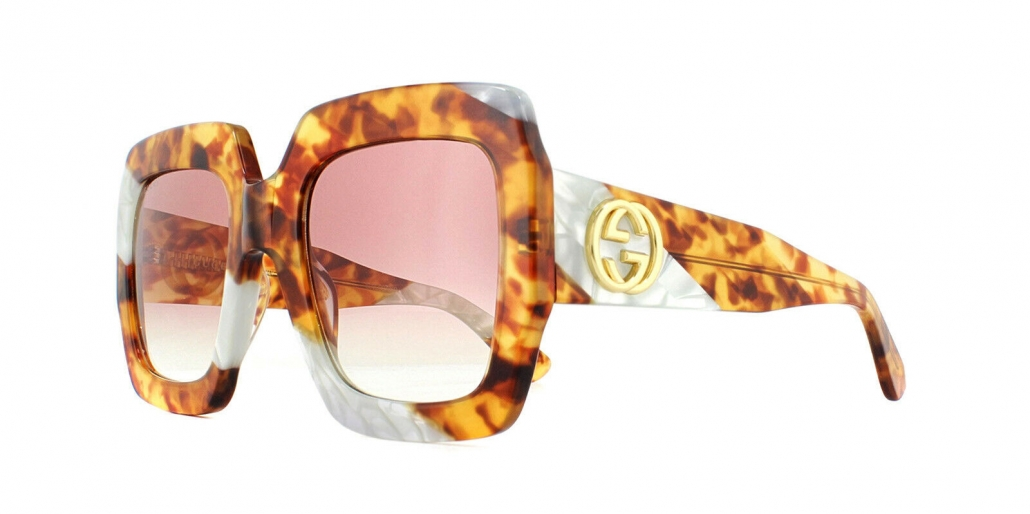 Gucci Eyewear Eckige Oversized-Sonnenbrille
