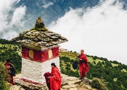 Bhutan Reise Tempel