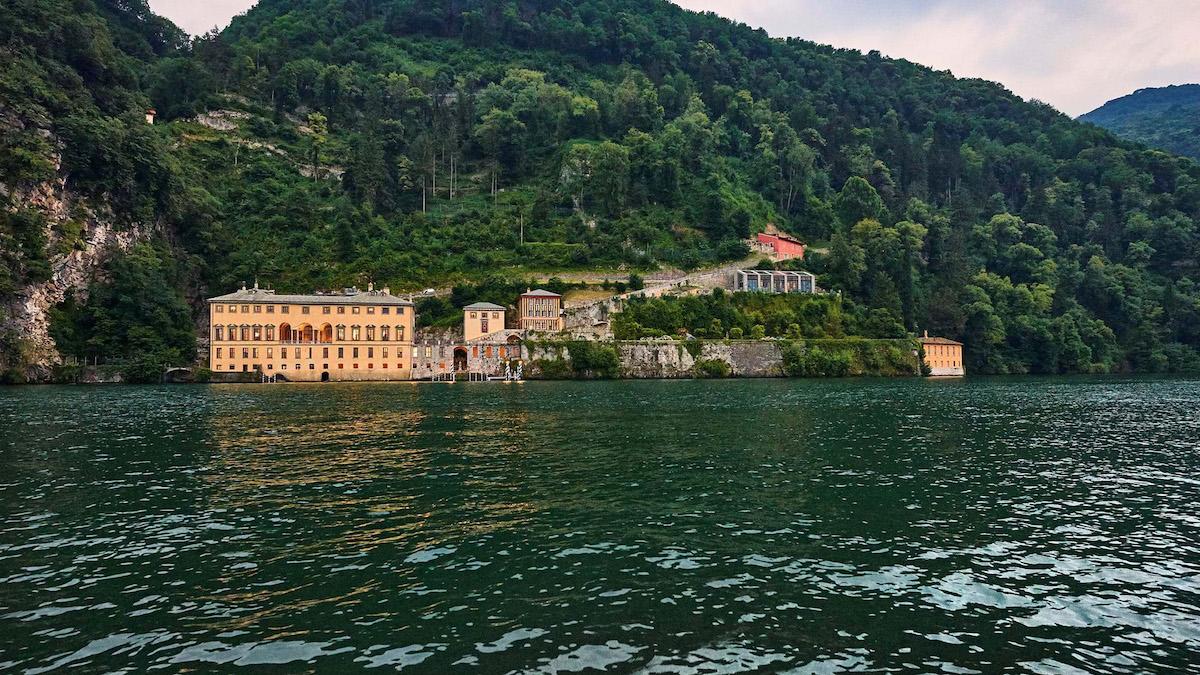Die Villa Pliniana am Comer See