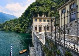 Privatbucht der Villa Pliniana am Comer See